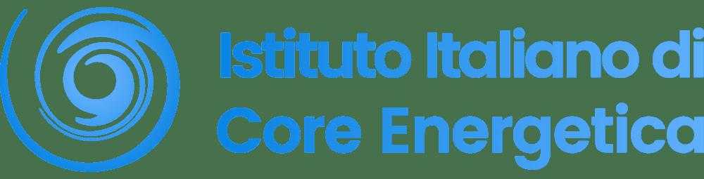 Core Energetica logo scritta no sfondo no spazio